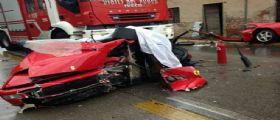 Vicenza : Pierangelo Statile e cugino 12enne morti nella Ferrari