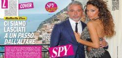 Raffaella Fico e Alessandro Moggi si lasciano a un passo dal matrimonio e lei torna da Balotelli