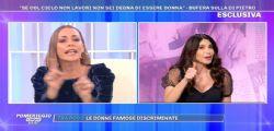 Ignorante! Scontro tra Karina Cascella e Carmen Di Pietro