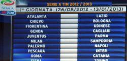 Sorteggio Serie A 2013/14 Streaming e Diretta
