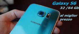 Samsung Galaxy S6 flat al miglior prezzo (scontato del 15%)