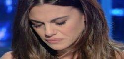 Domenica In Bianca Guaccero in lacrime per la lettera della mamma