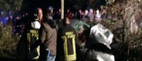 Galatina | Auto contro un albero : Muore una 17enne, feriti cinque amici