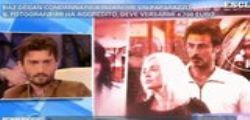 Raz Degan condannato per la lite con un fotografo : Il web contro Barbara D'Urso
