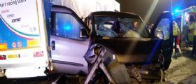 Incidente A21 tra Brescia e Manerbio : 4 morti e 5 feriti