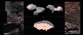 Una cometa a chiazze... di ghiaccio d