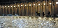 Venezia, peggiora la previsione : marea a 160 cm