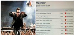 U2 a Roma : su TicketOne biglietti esauriti