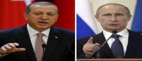 Vladimir Putin contro la Turchia : Compra il petrolio dall