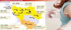 Allarme Meningite in Toscana : Piano per la vaccinazione gratuita