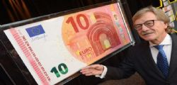 La nuova banconota da 10 euro dal 23 settembre 2014