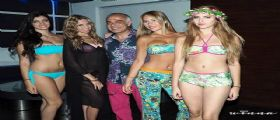 TROPICAL STYLE PER IL BRAND WINNA AL VIRGILIO CLUB DI NAPOLI.
