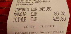 Accipicchia... e quando tornano! Alle giapponesi scontrino da 429 euro per due spaghetti