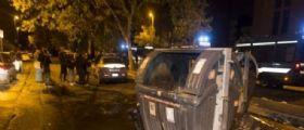Roma : Rivolta contro gli immigrati lanciate bombe carta nella notte