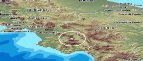 Terreomo Oggi Salerno : Scossa magnitudo 3.1 nella zona sud della Provincia
