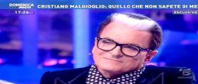 CRISTIANO MALGIOGLIO E LE SUE GRANDI PASSIONI A DOMENICA LIVE.