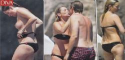 Kate Moss in topless a Capri infiamma Nikolai von Bismarck