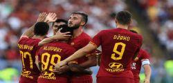 Serie A, posticipo Roma Sassuolo 4-2