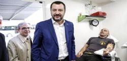 Bufera su Salvini! Donazioni di sangue obbligatorie nelle scuole