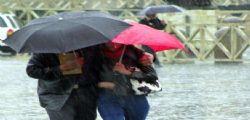 Allerta Meteo : Perturbazione e piogge al Sud