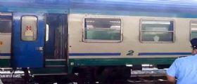 Maltempo a Biella : Deraglia treno, passeggeri illesi