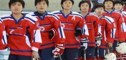 Olimpiadi 2018 : le nordcoreane di hockey incontrano le colleghe al Sud