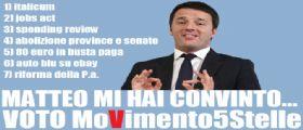 Matteo Renzi : Mercoledì la P.A., con un pensiero affettuoso agli amici gufi!