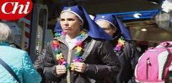 Un sogno realizzato! Ilary Blasi a Lourdes come volontaria tra i malati