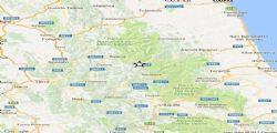 Terremoto Oggi : Scosse centro Italia fino a magnitudo 2.9