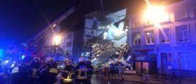 Belgio, esplode locale italiano: 14 feriti, 7 persone estratte vive dalle macerie tra cui un bambino