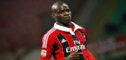 Mario Balotelli potrebbe lasciare il Milan a Gennaio