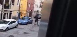 Chioggia : Distrugge a sprangate auto della polizia e semina il panico in strada