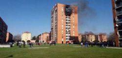 Incendio palazzina a Milano : morto il 13enne gravemente ustionato
