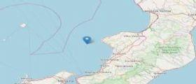 Terremoto Oggi Calabria : Scossa di magnitudo 3.7 a largo della costa ovest