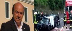 Valsugana : Auto perde il controllo e finisce contro un camion