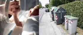 Neonato Santa Maria di Sala : la mamma che ha trovato il piccolo Attilio nel cassonetto