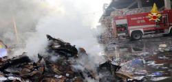 Milano, quasi spento rogo dei rifiuti : Valori di diossina alterati