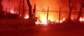 Venezia, incendio al camping : Scoppiano bombole