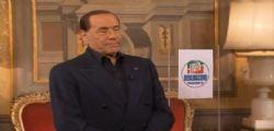 Silvio Berlusconi : Bisogna ripartire dalle persone più deboli
