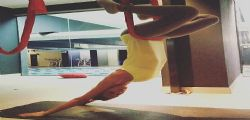 Melissa Satta su Instagram : Amo questo sport