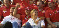 La moglie di Michael Schumacher : È un combattente, non si arrenderà