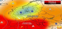 Meteo weekend 21 23 Luglio : Anticiclone Caronte, fino a 40 gradi al Sud