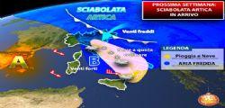 Arriva una settimana polare! Previsioni meteo Gennaio 2019