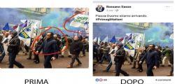 Lega : il foto-ritocco del candidato che ha cancellato Prima il Nord
