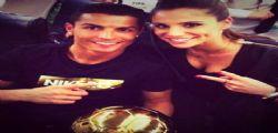 Cristiano Ronaldo : dopo Irina Shayk si consola con Lucia Villalon