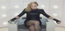 Madonna simula un orgasmo in diretta tv!