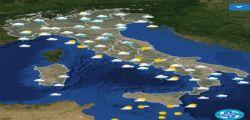 Maltempo Oggi, ancora piogge e allerta in 5 Regioni