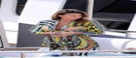 Bellissima Claudia Galanti a Cannes