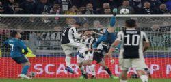 Juventus-Real Madrid 0-3 : Il fantastico gol Rovesciata di Cristiano Ronaldo - Video
