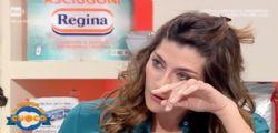 Piange in diretta! Elisa Isoardi in lacrime a La Prova del cuoco